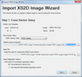AHGW Import XS2D Image Wizard dialog Step 1.png